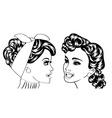 pop art retro women in comics style that gossip vector image vector image