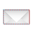color striped paper envelopes closed vector image vector image