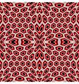 Design seamless hexagon geometric pattern vector image