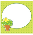 Frame for a photo form vector image vector image
