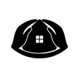 house care logo icon design template vector image vector image