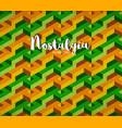 nostalgia background vector image