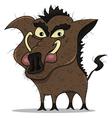 old boar vector image