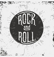 rock and roll typography for t-shirt graphic vector image vector image