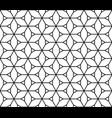 seamless traditional japanese kumiko ornamen vector image vector image