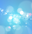 Bright Abstract Blue Background vector image