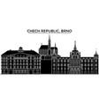 chech republic brno architecture city vector image