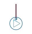 decorative pendant vector image