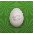 Easter realistic Chicken Egg with Shadows vector image vector image