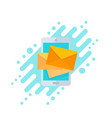 incoming messages mobile email marketing vector image