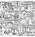menton old town france vector image