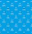 old axe pattern seamless blue vector image vector image