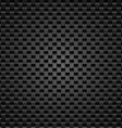 Realistic dark carbon vector image vector image