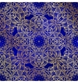 Seamless decorative pattern Ornament with mosaic vector image