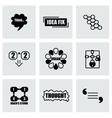 Thought icon set vector image vector image