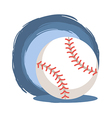 Baseball Softball Ball vector image vector image