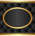 black background vector image vector image