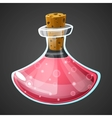 cartoon potion bottle vector image vector image