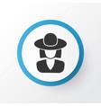 elegant headgear icon symbol premium quality vector image