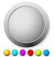 empty circle design elements in many colors eps 10 vector image vector image