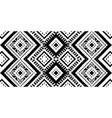 ikat seamless pattern tribal art print chevron vector image vector image