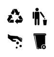 purity simple related icons vector image vector image