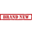 Stamp brand new vector image