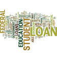 the lowdown on student loans text background word vector image vector image