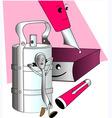 tiffin box vector image vector image