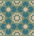 turquoise abstract mosaic vector image