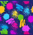 colorful seamless pattern grunge background with vector image