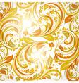 Orange Floral Background vector image vector image