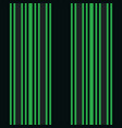 vertical black and green stripes print vector image vector image