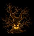big evel dead tree vector image