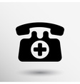 emergency call sign icon fire phone number button
