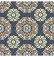 Ethnic floral seamless pattern6 vector image