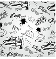 hip hop style accessories vector image