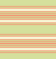 retro pastel green and orange horizontal stripes vector image vector image