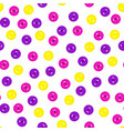 seamless pattern with colorful violet vector image vector image