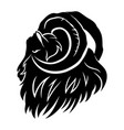sign of a black ram vector image