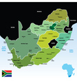south africa vector image vector image