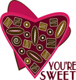 Youre Sweet vector image vector image