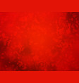 artistic red background forming by abstract shapes vector image vector image