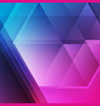 blue purple abstract tech background with glossy vector image vector image