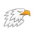 Eagle head logo 3 vector image vector image