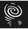 Hurricane Symbol vector image