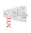 Nyc word cloud concept