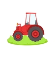 Red Farm Truck Cartoon Farm Related Element On vector image vector image