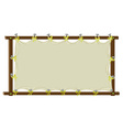 Blank banner vector image vector image