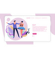 Dance classes ballet dancing web page template